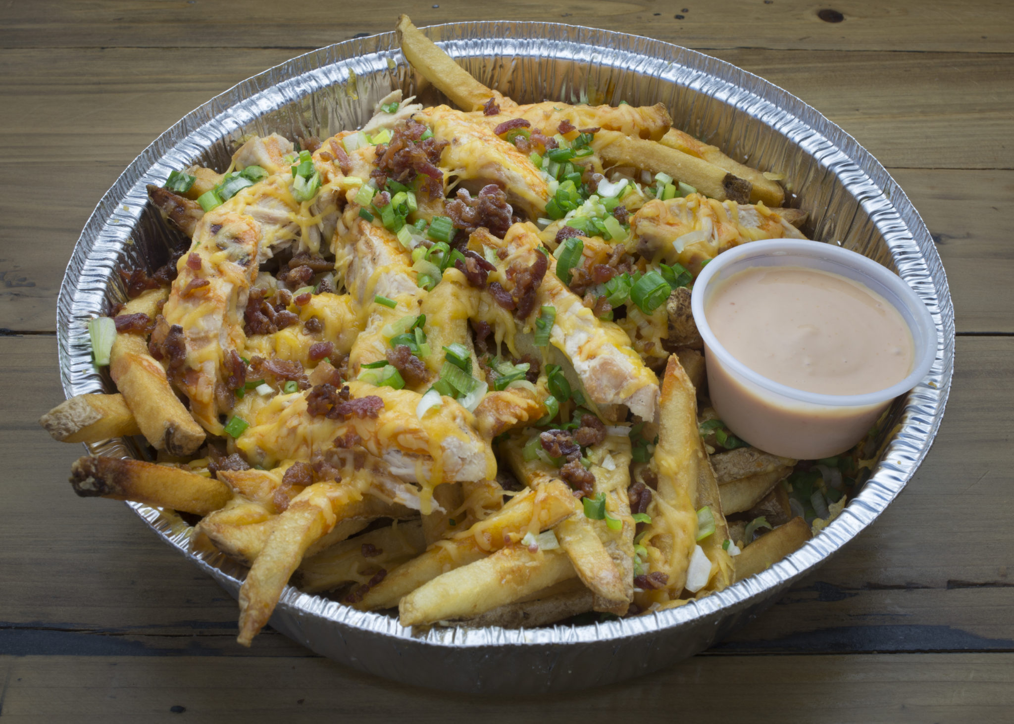 Buffalo Garbage Fries